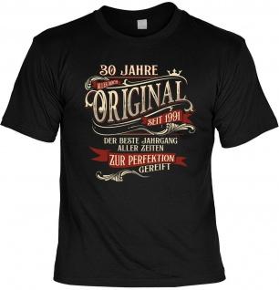 lustiges Geburtstag T-Shirt - 30 Jahre Original seit 1991 Herren Shirt Geschenk
