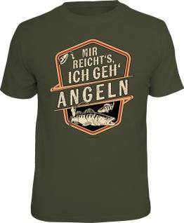 Herren Angler T-Shirt - Ich geh angeln - lustige Geschenke für Männer Shirts