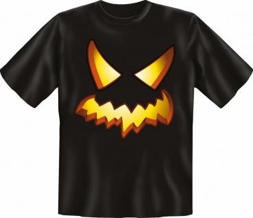 T-Shirt - Pumpkin Halloween Kürbis - Fun Shirts Karneval Geschenk geil bedruckt