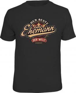 Hochzeitstag T-Shirt Der beste Ehemann der Welt Fun Shirt Geburtstag Geschenk