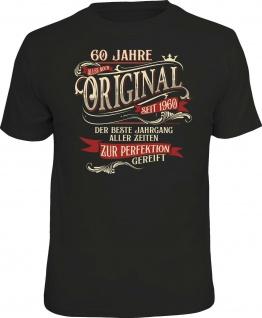 lustiges Geburtstag T-Shirt - 60 Jahre Original seit 1960 Herren Shirt Geschenk