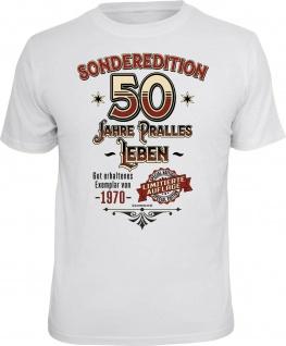 Geburtstag T-Shirt - Sonderedition 50 Jahre pralles Leben - Exemplar von 1970