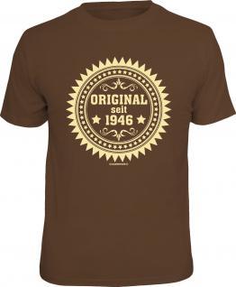 Geburtstag T-Shirt Original seit 1946 Fun Shirt 4 Heroes Geschenk geil bedruckt