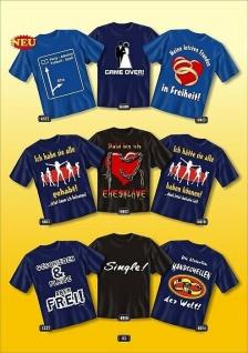 Fun Collection T-Shirt Junggesellenabschied Hochzeit Heirat Polterabend Shirt