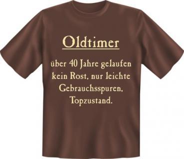 Fun Collection T-Shirt 40 Jahre Vierzig Shirt 40ter Geburtstag Auswahl bedruckt - Vorschau 5