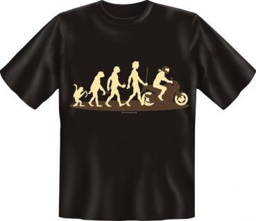 Fun Collection T-Shirt Evolution Homo Stupidus Shirt Geschenk Auswahl bedruckt - Vorschau 3