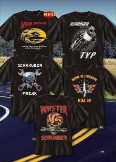 Fun Collection - T-Shirt Biker Chopper Motorrad Shirt Geschenk Auswahl bedruckt
