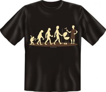 Fun Collection T-Shirt Evolution Homo Stupidus Shirt Geschenk Auswahl bedruckt - Vorschau 5