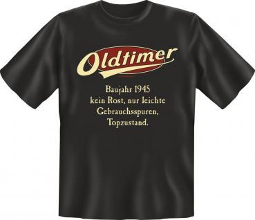 Geburtstag T-Shirt Oldtimer Baujahr 1945 Geschenk Shirt geil bedruckt
