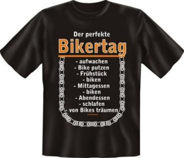 bedrucktes Biker Fun T-Shirt Shirts - Perfekter Bikertag - Geburtstag Geschenk