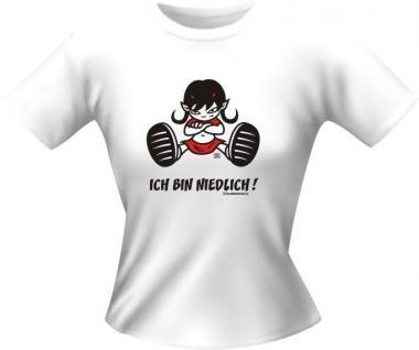 Fun Collection Lady-Shirts Girlie Shirt Geschenk Auswahl T-Shirt geil bedruckt - Vorschau 3