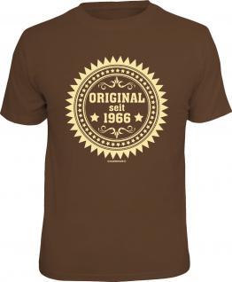 Geburtstag T-Shirt Original seit 1966 Fun Shirt 4 Heroes Geschenk geil bedruckt