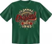 Geburtstag T-Shirt - Original seit 1945