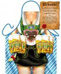 Grillschürzen - Oktoberfest Frau