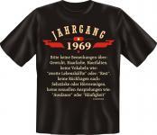 Geburtstag T-Shirt - Jahrgang 1969