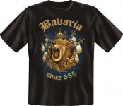Bayern T-Shirt - Bavaria since 555