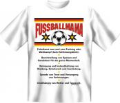 Fun T-Shirt - Fussball Mama