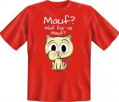Fun T-Shirt - Katze Mauf