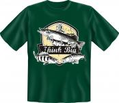 Angler T-Shirt - Think Big Angel Shirt