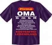 Geburtstag T-Shirt - Oma GmbH