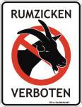 FunSchild - Rumzicken verboten