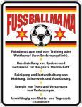 Fun-Schild - Fussballmama