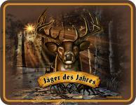 Fun Blechschild - Jäger des Jahres