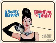 Filmklassiker Blechschild - Frühstück bei Tiffany