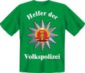 T-Shirt - Helfer der Volkspolizei
