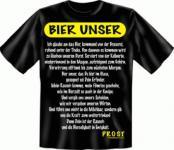 Fun T-Shirt - BIER UNSER