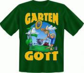 T-Shirt - Garten Gott Gartengott