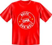 Geburtstag T-Shirt - Beste Oma der Welt