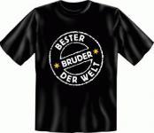 Geburtstag T-Shirt - Bester Bruder der Welt