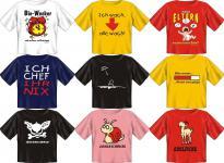 Fun Collection - T-Shirt Baby-Shirt Baby Shirt Geschenk Auswahl lustig bedruckt