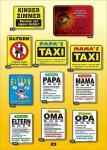 Fun Collection Blechschild Papa Mama Opa Oma Alu Schild Auswahl lustig bedruckt