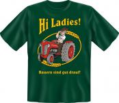 Fun T-Shirt - Bauern sind gut drauf