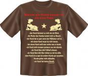 T-Shirt - Hund besser als Frau