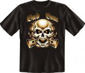 Biker T-Shirt - Bad Bone