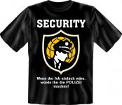T-Shirt - Security statt Polizei