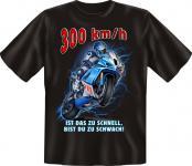 Biker T-Shirt - 300 km/h