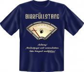 T-Shirt - Bierfüllstand