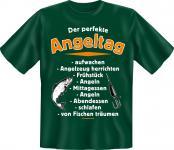 Angler T-Shirt - Der perfekte Angeltag Angel Shirt