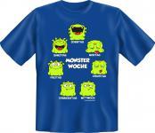 Fun T-Shirt - Monster Woche