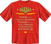 Geburtstag T-Shirt - Mama ist immer da