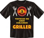 Grill T-Shirt - Grillregel 3