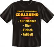 Grill T-Shirt - Grillabend für Männer