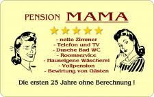 Brettchen - Pension Mama