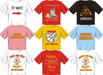 Fun Collection - T-Shirt Baby-Shirt Baby Shirts Geschenk Auswahl lustig bedruckt