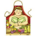 Grillschürzen - Botero Frau