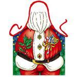 Grillschürzen - Weihnachtsmann